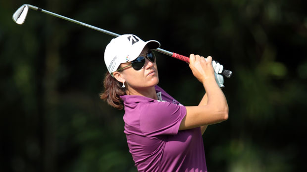 Sophie Gustafson at the HSBC Women's Champions 2012