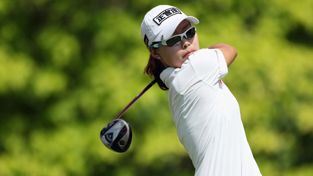 Sun Young Yoo at the HSBC Women's Champions 2012