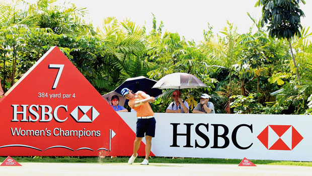 Yani Tseng at the HSBC Women's Champions 2012