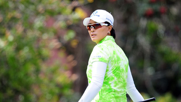 Se Ri Pak at the Kia Classic 2012