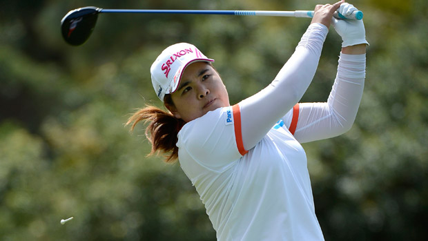 Inbee Park during the first round of the Kia Classic