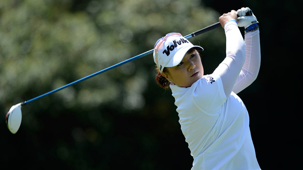Jeong Jang during the third round of the Kia Classic