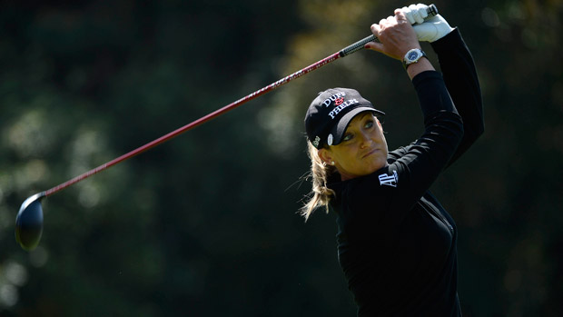 Cristie Kerr during the third round of the Kia Classic