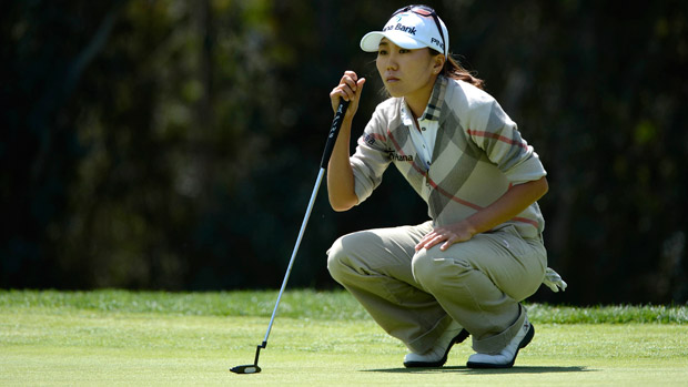 I.K. Kim during the third round of the Kia Classic