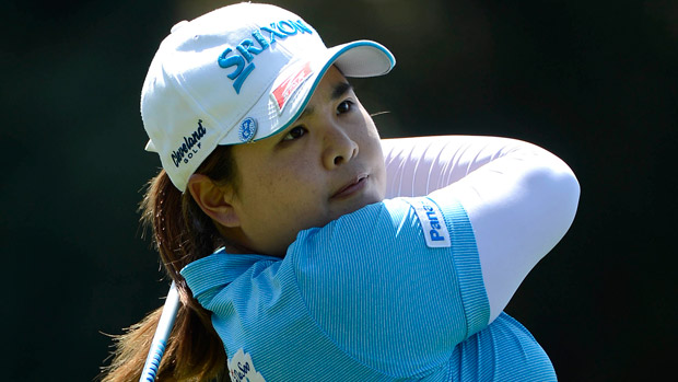 Inbee Park during the third round of the Kia Classic