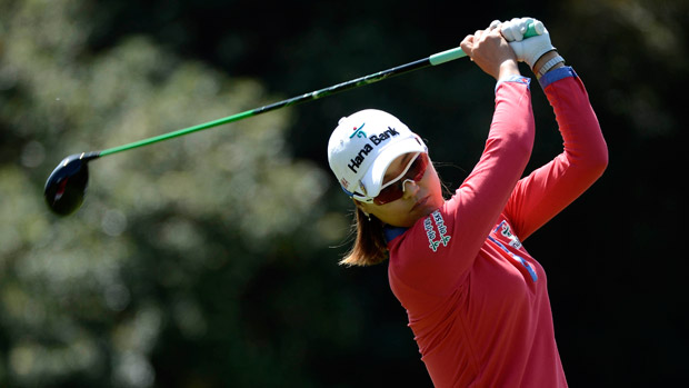 So Yeon Ryu during the third round of the Kia Classic
