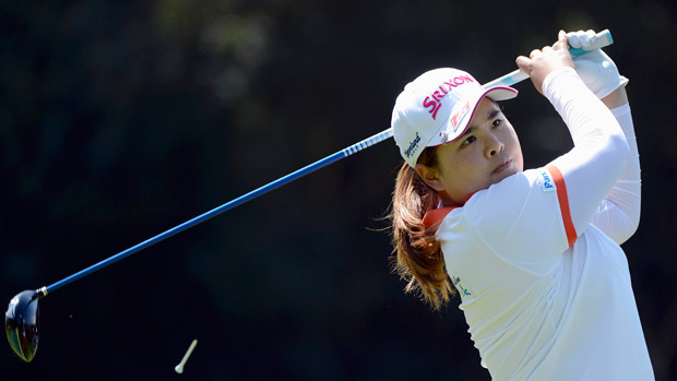 Inbee Park during the final round of the Kia Classic