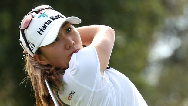 I.K. Kim during the First Round of the 2013 Kraft Nabisco Championship