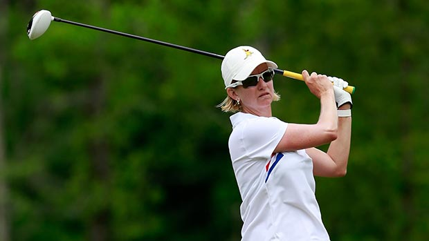 Karrie Webb during the final round of the Mobile Bay LPGA Classic