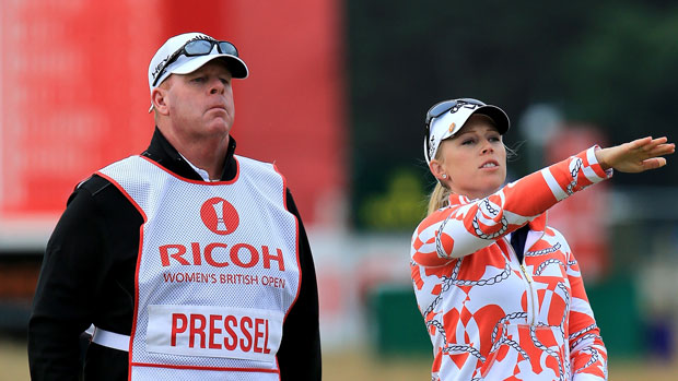 Morgan Pressel during the Third Round of the 2013 RICOH Women's British Open