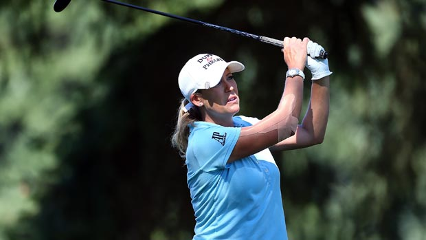 Cristie Kerr during the third-round of the Safeway Classic Presented by Coca-Cola