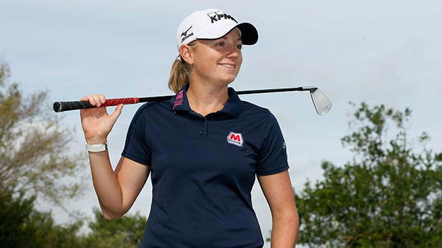Stacy Lewis poses for a portrait