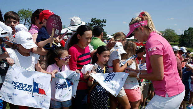 Paula Creamer during the final round of the North Texas LPGA Shootout