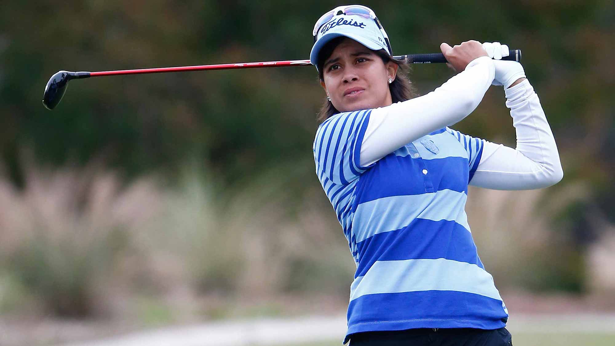 Julieta Granada during the second round of the 2014 CME Group Tour Championship
