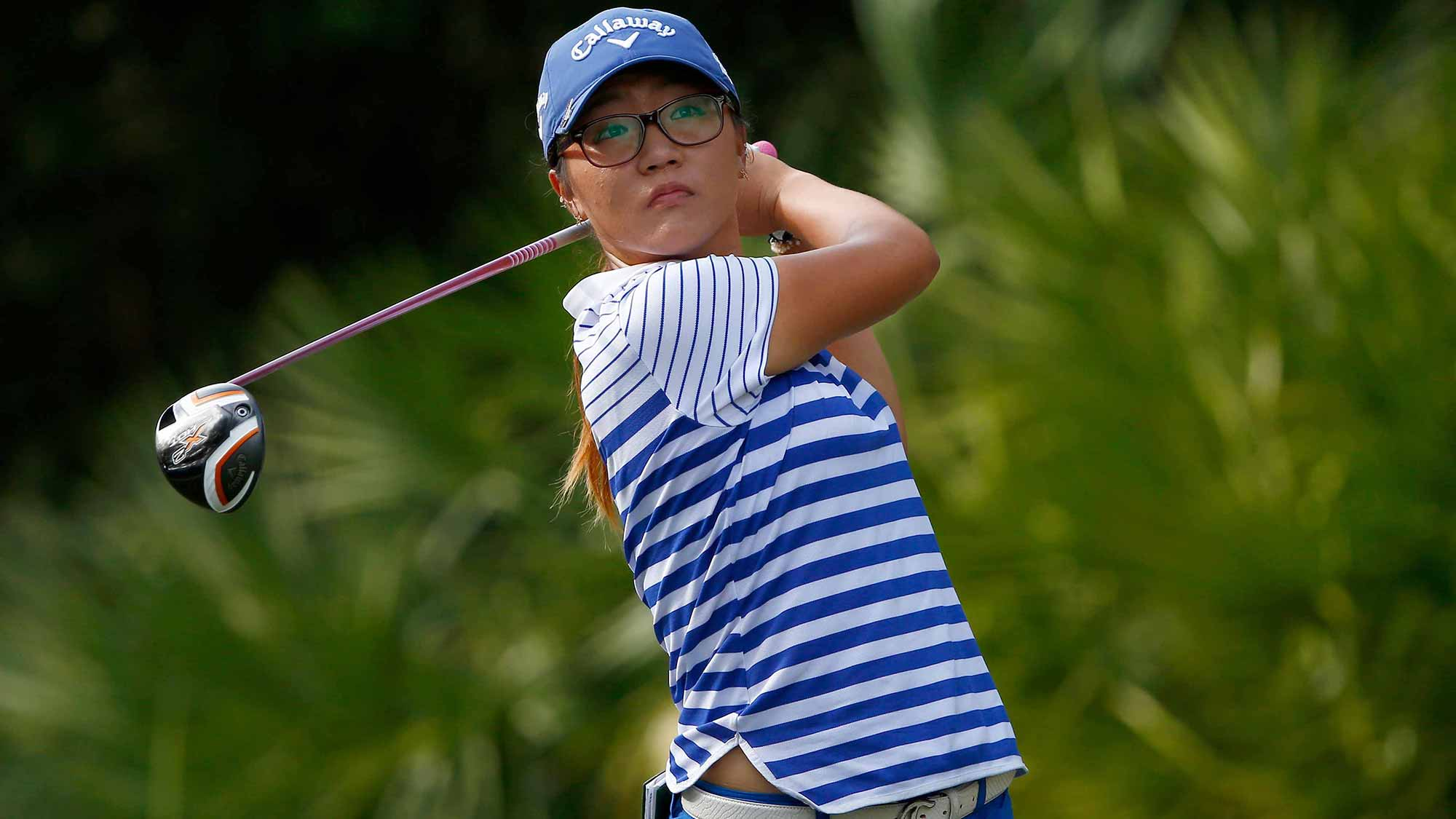 Lydia Ko during the final round of the 2014 CME Group Tour Championship