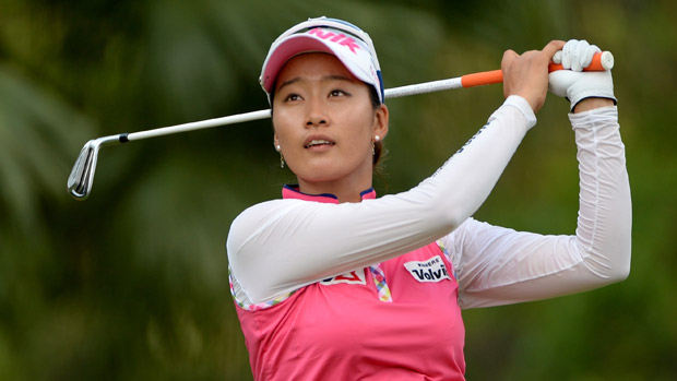 Chella Choi during the second round of the HSBC Women's Champions
