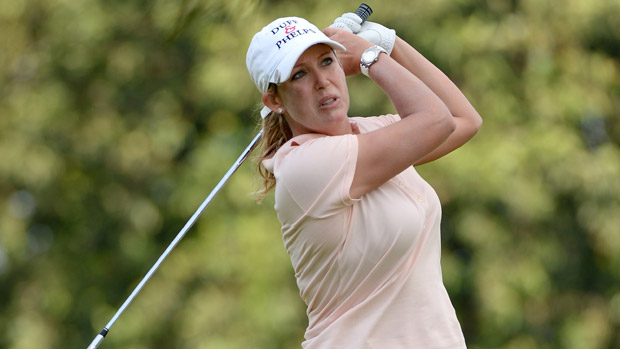 Cristie Kerr during the second round of the HSBC Women's Champions