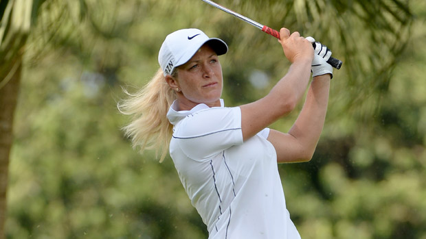 Suzann Pettersen during the second round of the HSBC Women's Champions