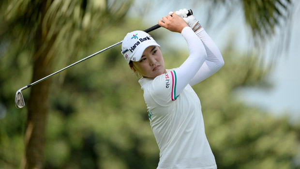 So Yeon Ryu during the second round of the HSBC Women's Champions