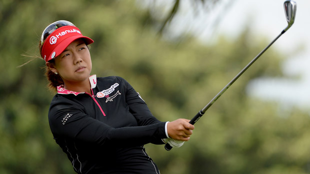 Jenny Shin during the second round of the HSBC Women's Champions
