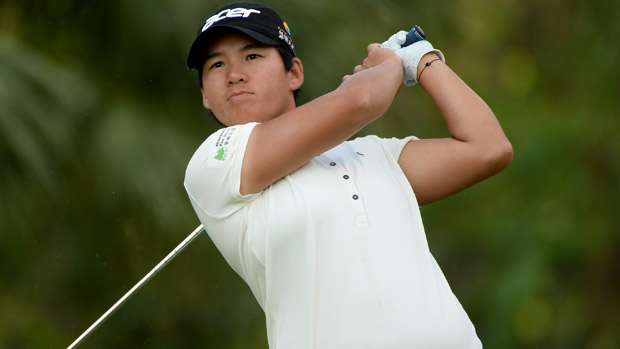 Yani Tseng during the second round of the HSBC Women's Champions