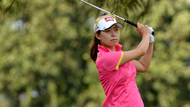 Sun Young Yoo during the second round of the HSBC Women's Champions