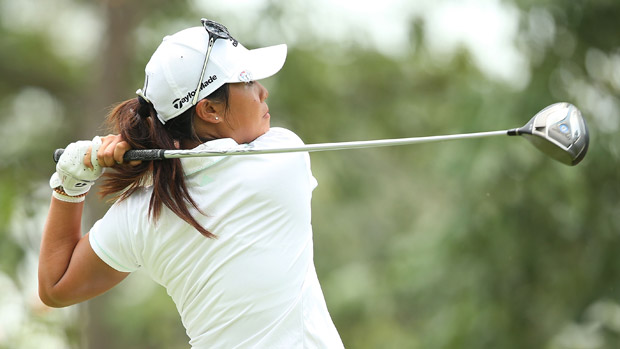 Daniella Kang during the third round of the HSBC Women's Champion