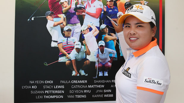 Inbee Park during the third round of the HSBC Women's Champion
