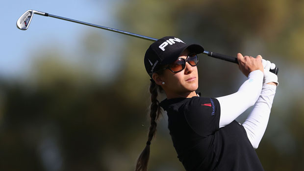 Azahara Munoz during the second round of the 2014 JTBC Founders Cup