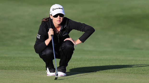 Jaclyn Sweeney during the first round of the 2014 JTBC Founders Cup