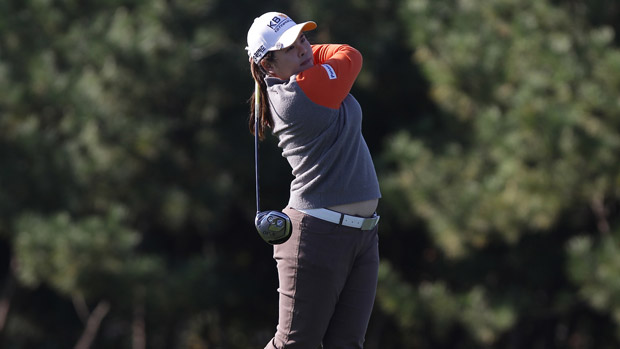 Inbee Park during the second round of the LPGA KEB-HanaBank Championship