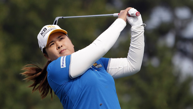 Inbee Park during the final round of the LPGA KEB-HanaBank Championship