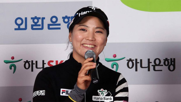 LPGA KEB-HanaBank Championship Photo Call and Press Conference