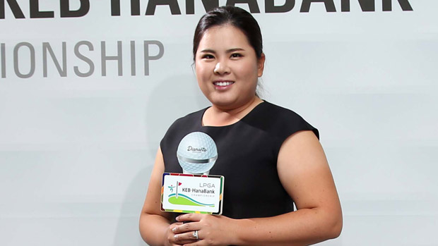 Inbee Park during the Gala Dinner at the LPGA KEB-HanaBank Championship