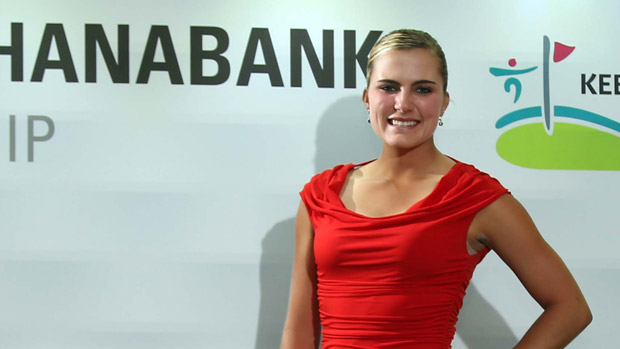 Lexi Thompson during the Gala Dinner at the LPGA KEB-HanaBank Championship