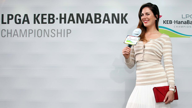Sandra Gal the Gala Dinner at the LPGA KEB-HanaBank Championship