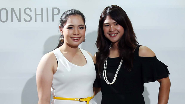 Moriya Jutanugarn and Pornanong Phatlum during the Gala Dinner at the LPGA KEB-HanaBank Championship