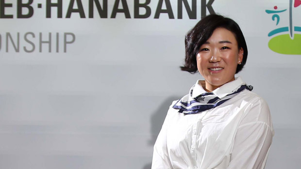 Jiyai Shin during the Gala Dinner at the LPGA KEB-HanaBank Championship