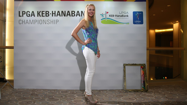 Jessica Korda during the Gala Dinner at the LPGA KEB-HanaBank Championship