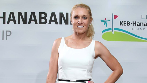 Natalie Gulbis during the Gala Dinner at the LPGA KEB-HanaBank Championship