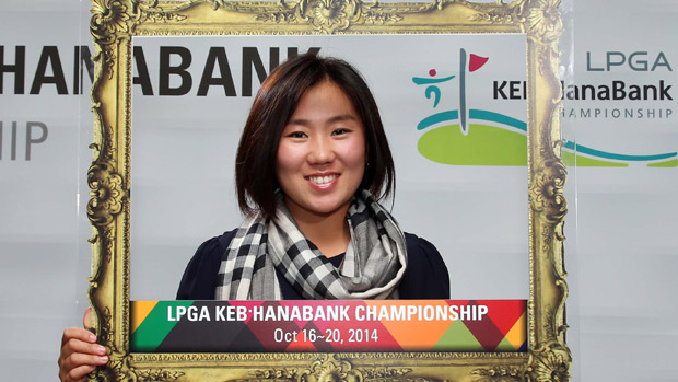I.K. Kim during the Gala Dinner at the LPGA KEB-HanaBank Championship