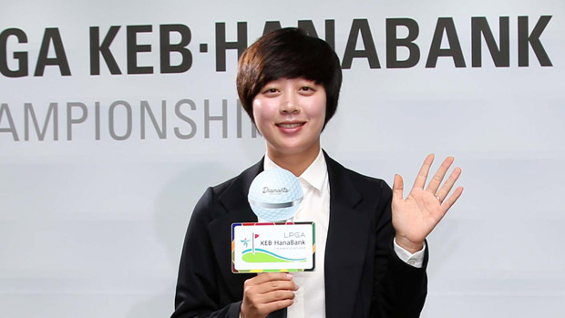 Hyo Joo Kim during the Gala Dinner at the LPGA KEB-HanaBank Championship