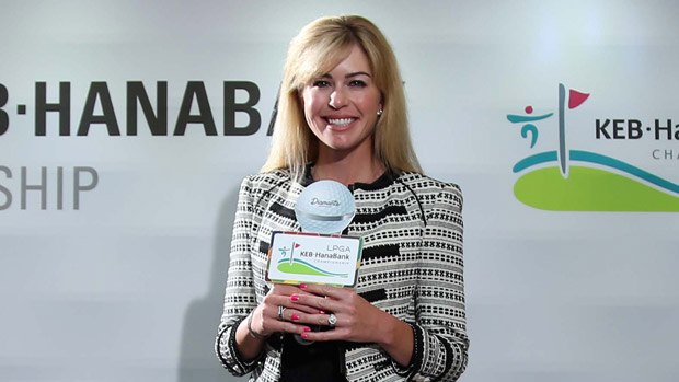 Paula Creamer during the Gala Dinner at the LPGA KEB-HanaBank Championship