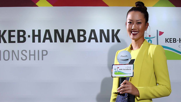 Michelle Wie the Gala Dinner at the LPGA KEB-HanaBank Championship