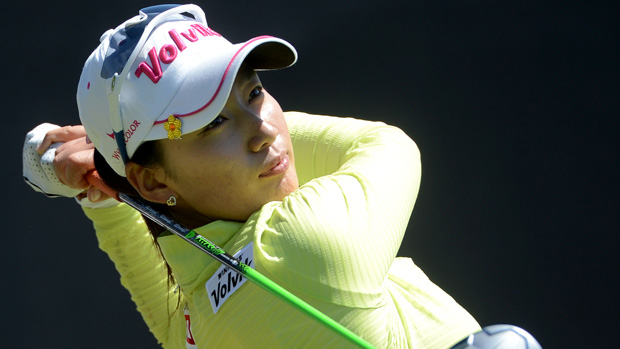 Chella Choi during the final round of the Kia Classic