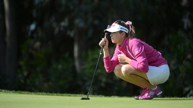 Paula Creamer during the first round of the Kia Classic