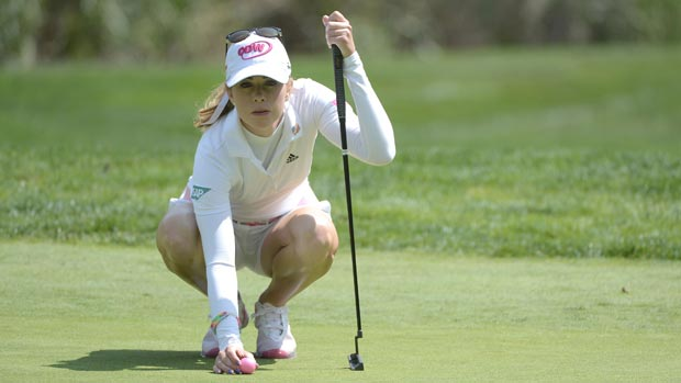 Paula Creamer during the third round at the Kia Classic