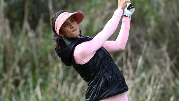 Veronica Felibert during the first round of the Kia Classic