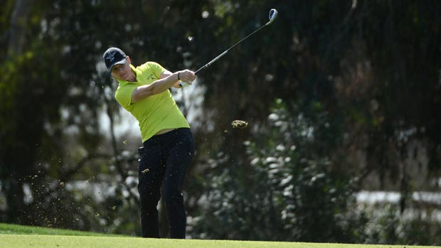Katie Futcher during the first round of the Kia Classic