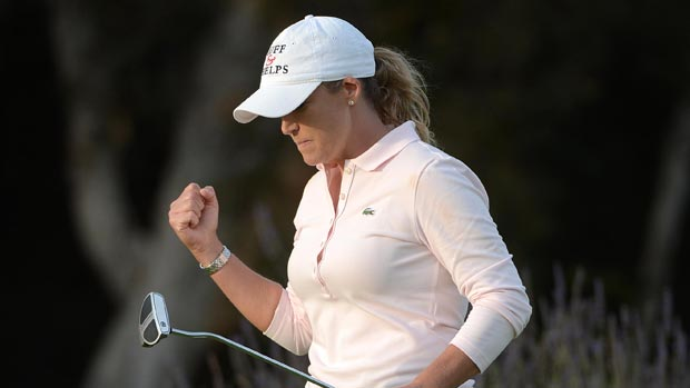 Cristie Kerr during the third round at the Kia Classic